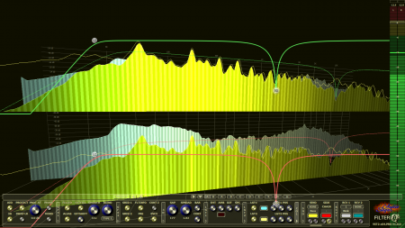 Filterizor 2D 3D multi channel equalizer filter effect audio plug-in VST VST3 AU AAX Free 3d