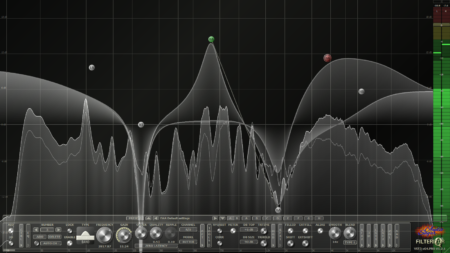 Filterizor - 2D/3D multi channel equalizer filter effect audio plug-in