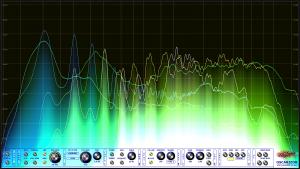 Oscarizor 2D 3D multi channel spectrum analyzer audio plug-in VST VST3 AU AAX Free blend mode 4