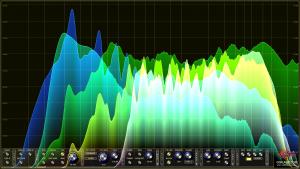 Oscarizor 2D 3D multi channel spectrum analyzer audio plug-in VST VST3 AU AAX Free Spectrum Overlay