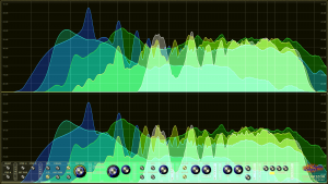 Oscarizor 2D 3D multi channel spectrum analyzer audio plug-in VST VST3 AU AAX Free stereo multi channel spectrum