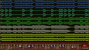 Oscarizor 2D 3D multi channel spectrum analyzer audio plug-in VST VST3 AU AAX Free stereo db