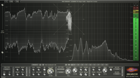 Oscarizor - 2D/3D multi channel spectrum analyzer audio plug-in VST VST3 AU AAX / Free