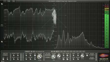 Oscarizor - 2D/3D multi channel spectrum analyzer audio plug-in VST VST3 AU AAX / Free